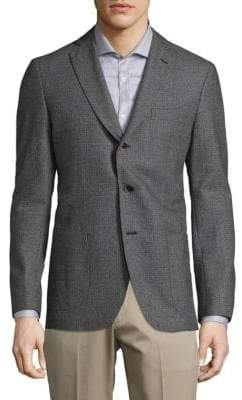 Saks Fifth Avenue COLLECTION Printed Wool Sportcoat