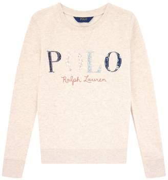 Polo Ralph Lauren Patchwork Logo Sweater
