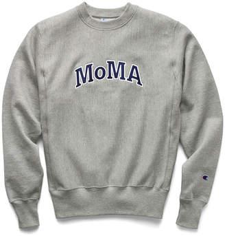 Champion (チャンピオン) - チャンピオン Champion クルーネックスウェットシャツ MoMA Edition S グレー