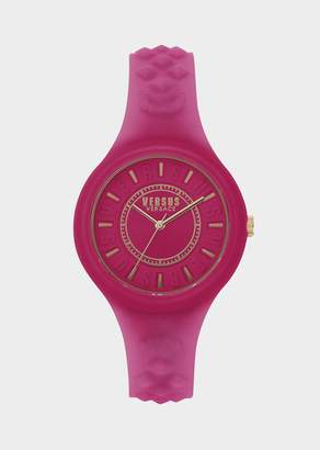 Versus Fire Island Pink Dial Watch