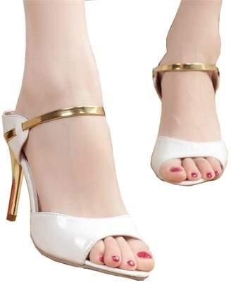 869a82897193 HEART LOVE Women Sandals Sexy High Heels Women Pumps NEW Women Shoes Gold Silver  Summer