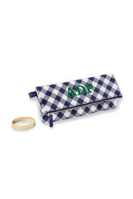 Mud Pie Gingham Cuff Clutch
