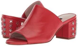 Nine West Fierceness Slide Block Heel Women's Dress Sandals