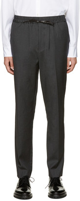 3.1 Phillip Lim Grey Wool Tapered Trousers $425 thestylecure.com