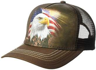 The Mountain Independence Eagle Adult Trucker Hat