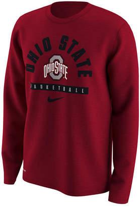 Nike Men's Ohio State Buckeyes Basketball Legend Long Sleeve T-Shirt