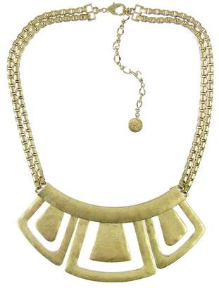 The Sak Hinged Geometric Bib Necklace