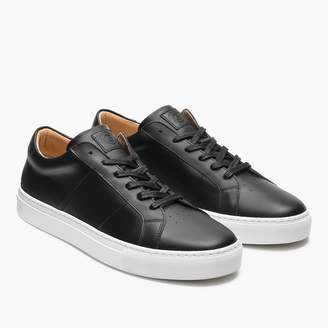 J.Crew GREATS® Royale sneakers in black with contrast sole