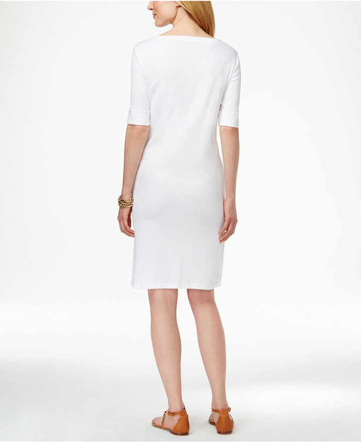 Karen Scott T-Shirt Dress, Only at Macy's 6
