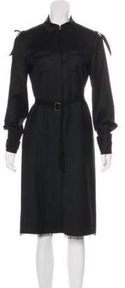 Miu Miu Wool Midi Dress