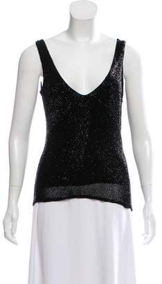 Ralph Lauren Sleeveless Embellished Top