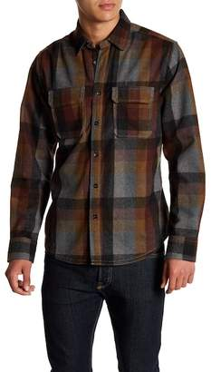 Jeremiah Heather Brushed Twill Flannel Shirt