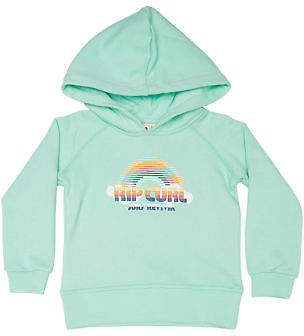 Rip Curl New Girls Tots Girls Surf Rainbow Hoody Cotton Polyester