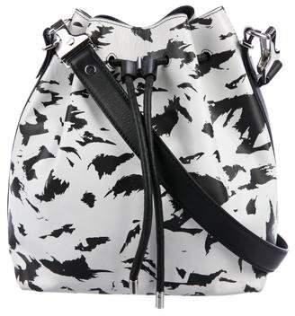 Proenza Schouler Printed Leather Bucket Bag