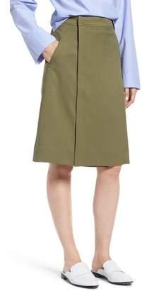 J.Crew J. Crew Kiki Faux Wrap Skirt