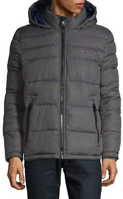 Tommy Hilfiger Logo Puffer Jacket