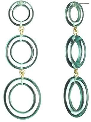 Trina Turk Women's Linear Grad Ring Earring
