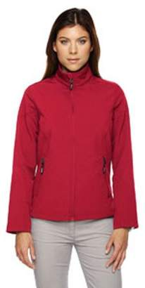 Ash City - Core 365 Ladies' Cruise Two-Layer Fleece Bonded Soft Shell Jacket - CLASSIC RED 850 - 3XL 78184