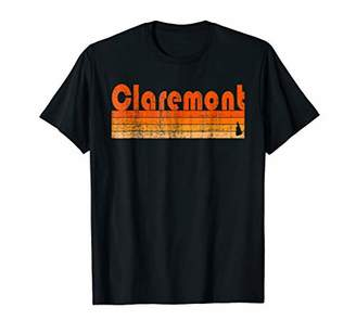 Retro 80s Style Claremont NH T-Shirt