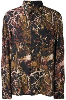 Lanvin Woods print shirt