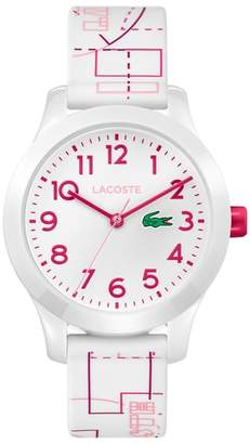 Lacoste 12.12 Rubber Strap Watch, 32mm