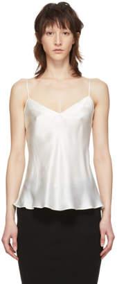 Simone Perele Off-White Silk Dream Tank Top