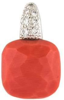 Pomellato Coral & Diamond Capri Pendant