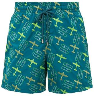 Vilebrequin Embroidered St Barth Seaplane Swim Shorts