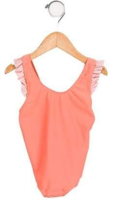 Eberjey Girls' Oliva One-Piece Swimsuit w/ Tags