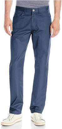 Calvin Klein Mens Textured Twill Cotton Casual Straight Fit Dress Pants (30X32, )