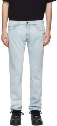 Off-White Blue Skinny Jeans