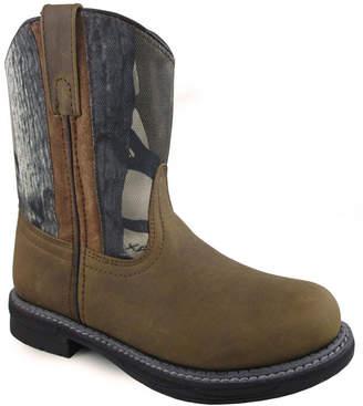 Buffalo David Bitton SMOKY MOUNTAIN Smoky Mountain Kid's True Timber Camo Wellington Cowboy Boot