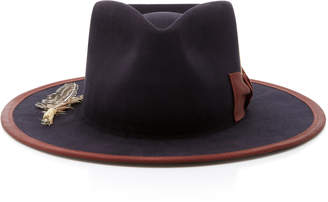 Nick Fouquet Cuba Tornado Feather-Embellished Fedora