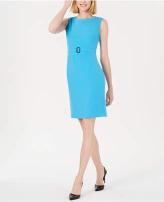 Kasper Petite Belted Dress
