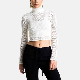 A.L.C. Jones Turtleneck Cropped Sweater