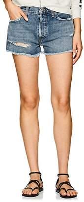 Solid & Striped x RE/DONE Women's Malibu Distressed Denim Shorts