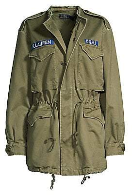 Polo Ralph Lauren Women's Cotton Vintage Combat Jacket