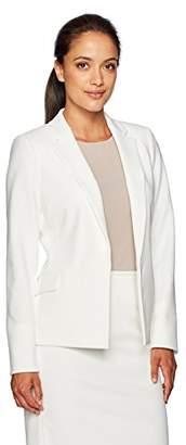 Calvin Klein Women's Petite Open Jacket with Pockets