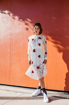 For Love & Lemons La Zosia Midi Dress