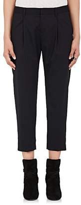Nili Lotan Women's Astor Wool-Blend Crop Pants