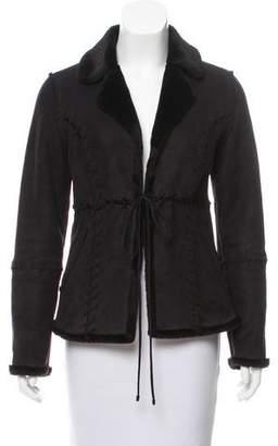 Prada Sport Shearling Short Jacket