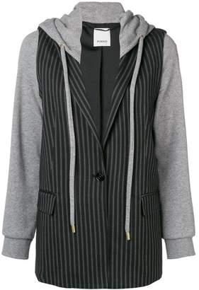 Pinko Bandiera hooded jacket