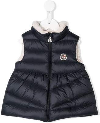 Moncler shearling lined gilet