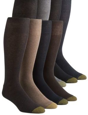 Gold Toe 8-Pack Assorted Knit Dress Socks
