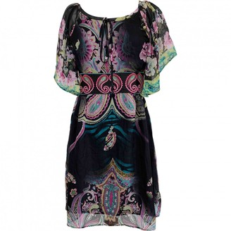 Catherine Malandrino Multicolour Silk Dress for Women