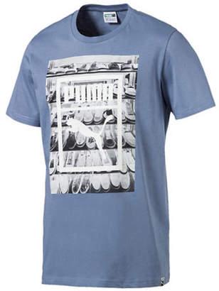 Puma Photoprint Shoes Cotton T-Shirt
