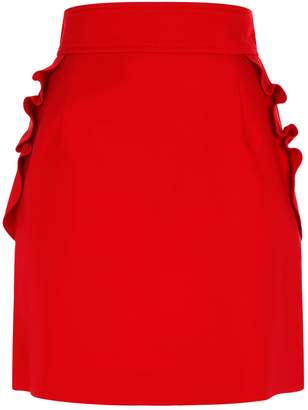 Sandro A-Line Mini Skirt
