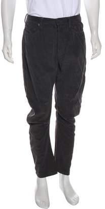Dolce & Gabbana Cropped Corduroy Pants