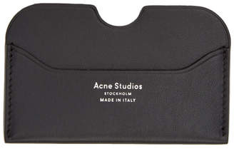 Acne Studios Black Elmas S Card Holder