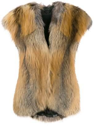 Liska Erino fur waistcoat